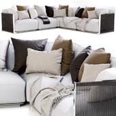 Vulcano Flexform Outdoor Sofa 1