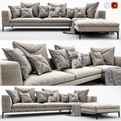 Michel Sofa by B & B Italia