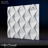 Гипсовая 3d панель Art-1018 от АртРельеф