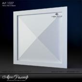Гипсовая 3d панель Art-1027 от АртРельеф