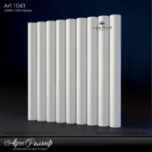 Гипсовая 3d панель Art-1043 от АртРельеф