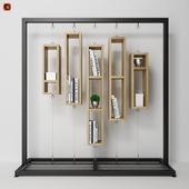 Стеллаж для книг frame book storage