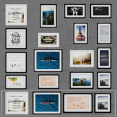 Photo Frame Set 11 (16 Frame Wall Collection)