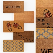 Set of door mats No.1