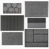 Set of door mats No.2