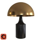 West Elm Hudson Table Lamp - Dark Bronze