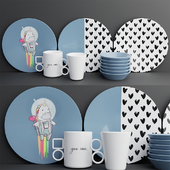 Набор посуды | Dishes set 1
