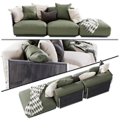 Vulcano Flexform Outdoor Sofa 2