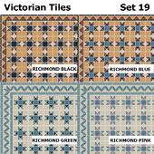 Topcer Victorian Tiles Set 19