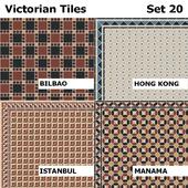 Topcer Victorian Tiles Set 20