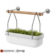 Urban Decor Grass Flower Pot