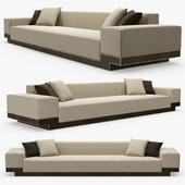 Pouenat - Flamboyant sofa