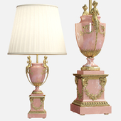 Neoclassical Marble Figural Table Lamp