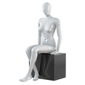 Abstract female mannequin 21