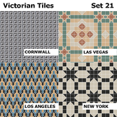 Topcer Victorian Tiles Set 21