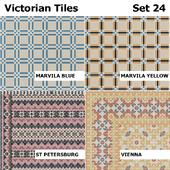 Topcer Victorian Tiles Set 24