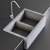 Sink Farmhouse Mixer Inox