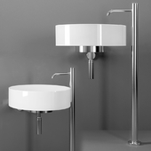 Boffi LOTUS Wall-mounted washbasin