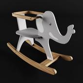 """Детский стул качалка """"Слон"""""""