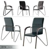 Office chair Samba chrome