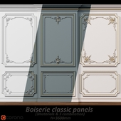 Wall molding 5. Boiserie classic panels