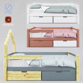 Детская кровать SKOGEN