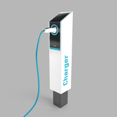 Electric Car Charge Station