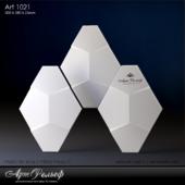 Гипсовая 3d панель Art-1021 от АртРельеф