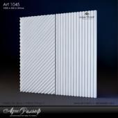 Гипсовая 3d панель Art-1045 от АртРельеф