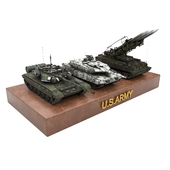 Tank toy set