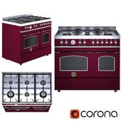Gas stove HERITAGE-HER100-6-MFE-D-Bertazzoni-268928