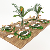 Table serving