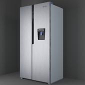 Refrigerator Ginzzu NFK-531 Steel