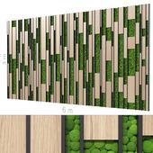 Decorative wall 203.
