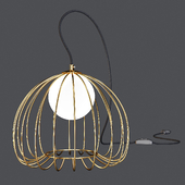 Maytoni: Table Lamp - Polly (MOD542TL-01G-W)