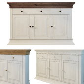 """Chest / sideboard """"Boston"""". Siver. Sideboard."""