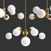 Albert 8-Light Sputnik Pendant