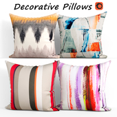 Decorative pillows set 378 Etsy