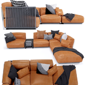 Vulcano Flexform Outdoor Sofa 4
