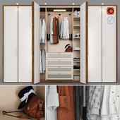 Гардероб - настенный шкаф