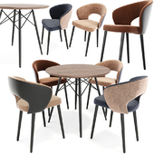 Dining Chair Set 09