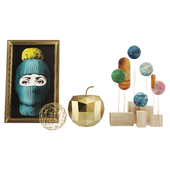 Fornasetti Lux Gstaad Decor Set 06