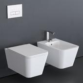Alice Ceramica Hide Wall-Hung WC