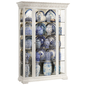 Classical display cabinet