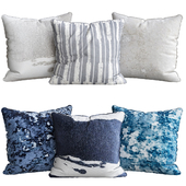 Ink Abstract Pillow Covers
