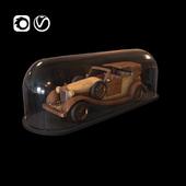 Luxury cadillac car toy