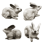 "Garden figure ""Hare"""