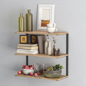 Decor Set 17 Sweet Shelves