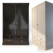 Шкаф для одежды 2х/3х дверный . The Werby Ellington.