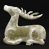 Jade deer